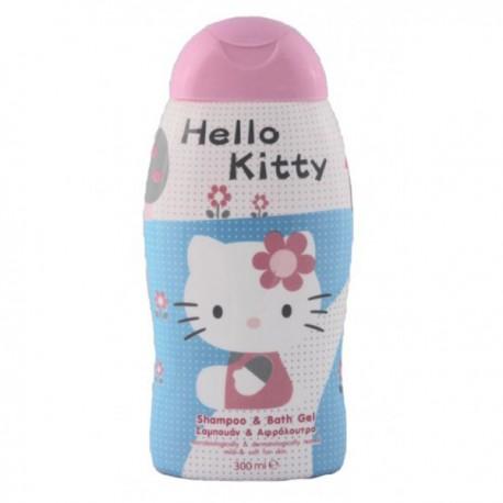 Flacon des Gels douches Choupinet de la gamme Hello Kitty sur Promo Couches