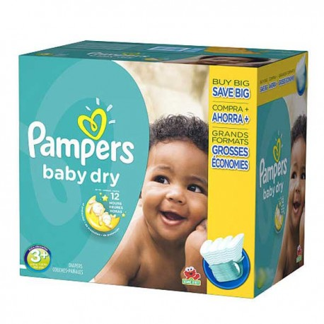 Couches pampers baby dry taille 3 moins cher 340 couches sur promo couches - Couche pampers baby dry taille 3 ...