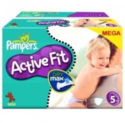 Pack 74 couches Pampers Active Fit