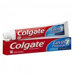 Tube Dentifrice Colgate de la gamme Cavity Protection sur Promo Couches