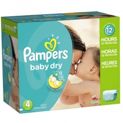 Maxi Giga Pack 264 couches Pampers Baby Dry