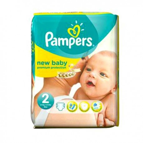 Couches pampers new baby taille 2 pas cher 44 couches sur promo couches - Couches pas cher taille 2 ...