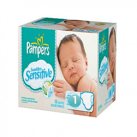 Couches pampers new baby sensitive taille 1 pas cher 299 couches sur promo couches - Couches pampers new baby pas cher ...