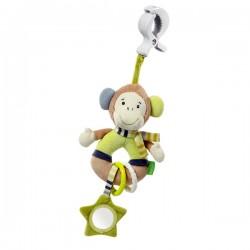 Doudou Pince-Clip Activités Babysun Singe Monkey Donkey sur Promo Couches