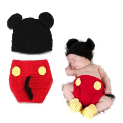 Mon premier ensemble Premier ensemble nouveaux nés de Choupinet Mickey Mouse de taille 6-18Mois sur Promo Couches