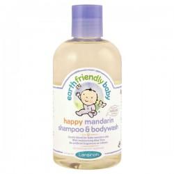 Flacon Gel douche de la marque EFB - Earth Friendly Baby Bio Mandarine sur Promo Couches
