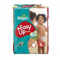 Pack 38 couches Pampers Easy Up