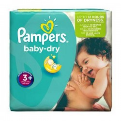 Pack 68 Couches Pampers Baby Dry