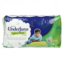 Pack 10 Sous-vêtements jetables Pampers Underjams de taille S/M
