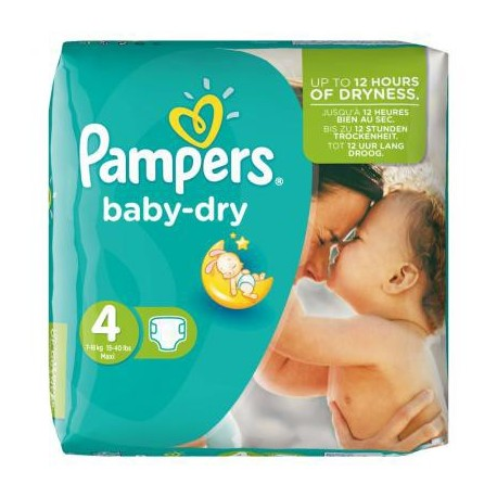Couches pampers baby dry taille 4 bas prix 46 couches sur promo couches - Couches pampers en promo ...