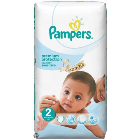 Couches pampers new baby sensitive taille 2 petit prix 60 couches sur promo couches - Couches pampers en promo ...