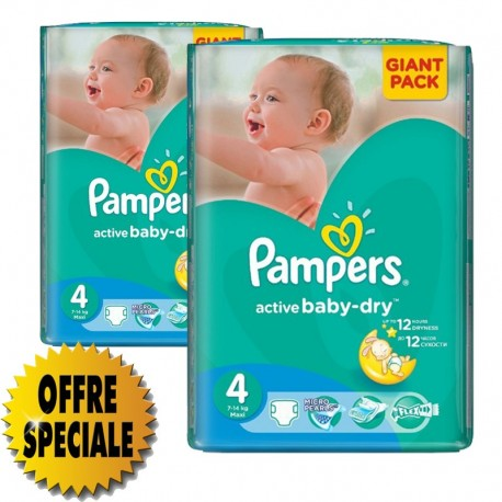 Couches pampers active baby dry taille 4 moins cher 522 - Prix couches pampers baby dry taille 4 ...