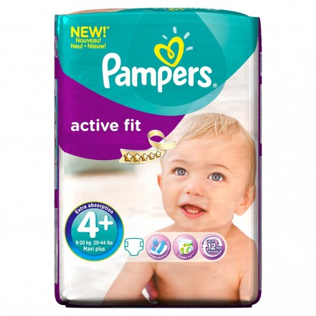 Couches pampers active fit taille 4 bas prix 50 couches sur promo couches - Couches pampers en promo ...