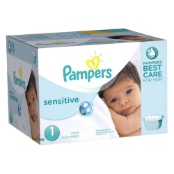 Giga Pack 315 Couches Pampers New Baby Sensitive taille 1 sur Promo Couches