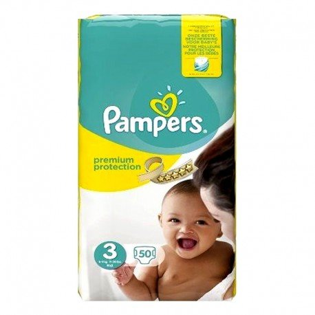 50 couches pampers premium protection taille 3 bas prix sur promo couches - Couches pampers en promo ...