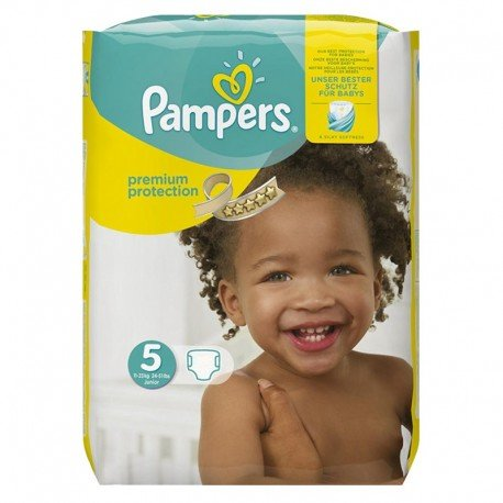 Pack 68 Couches Pampers Premium Protection - New Baby taille 5 sur Promo Couches