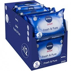 Giga Pack 756 Lingettes Bébés Nivea - Fresh sur Promo Couches