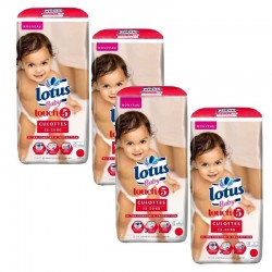 Mega Pack 144 couches Lotus Baby Touch sur Promo Couches