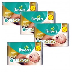 Maxi Pack 266 Couches Pampers New Baby - Premium Care taille 2