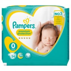 Pack 24 Couches Pampers New Baby taille 0