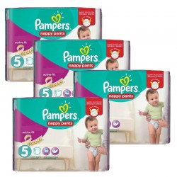 Maxi Pack 330 Couches Pampers Active Fit taille 5