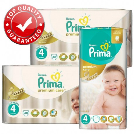 Maxi Pack 560 Couches Pampers Premium Care - Prima taille 4 sur Promo Couches