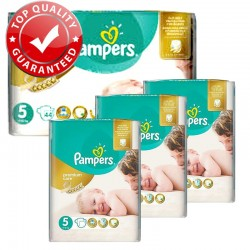 Maxi Pack 180 Couches Pampers Premium Care - Prima taille 5 sur Promo Couches