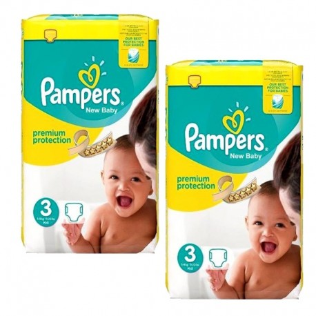 100 Couches Pampers premium protection taille 3 sur Promo Couches
