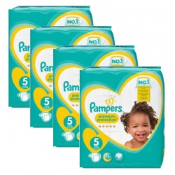 Giga Pack 240 Couches Pampers new baby - premium protection taille 5
