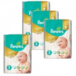 Maxi Pack 100 Couches Pampers Premium Care - Prima taille 3 sur Promo Couches