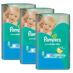 Maxi Pack 264 Couches Pampers Active Baby Dry taille 5