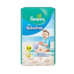 Pack 12 Couches de bains Pampers Splashers taille 3