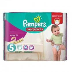Pack 40 Couches Pampers Active Fit Pants taille 5