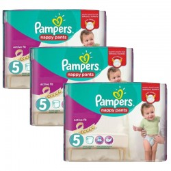 Giga Pack 120 couches Pampers Active Fit Pants sur Promo Couches