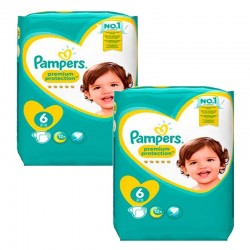 Pack 111 couches Pampers New Baby Premium Protection sur Promo Couches