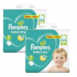 Giga Pack 116 couches Pampers Baby Dry sur Promo Couches