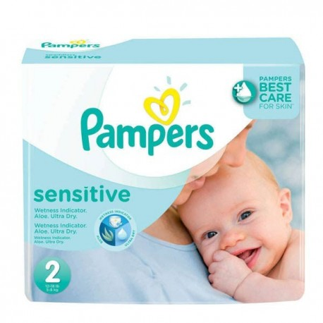 Maxi mega pack 420 Couches Pampers New Baby Sensitive sur Promo Couches
