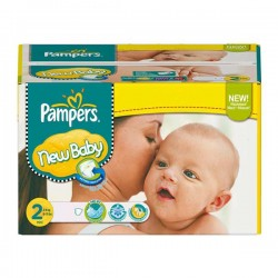 Pack 288 Couches Pampers New Baby Dry taille 2 sur Promo Couches