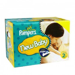 Maxi giga pack 310 Couches Pampers New Baby Premium Protection taille 2 sur Promo Couches