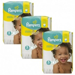 Pack 90 Couches Pampers New Baby Premium Protection taille 5 sur Promo Couches